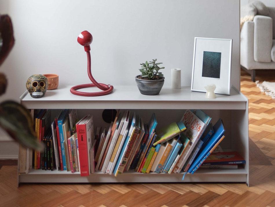 Floor Unit, 120 cm, light grey by UTIL
