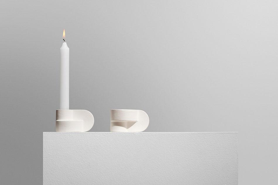 Candela, Kerzenständer von Pott