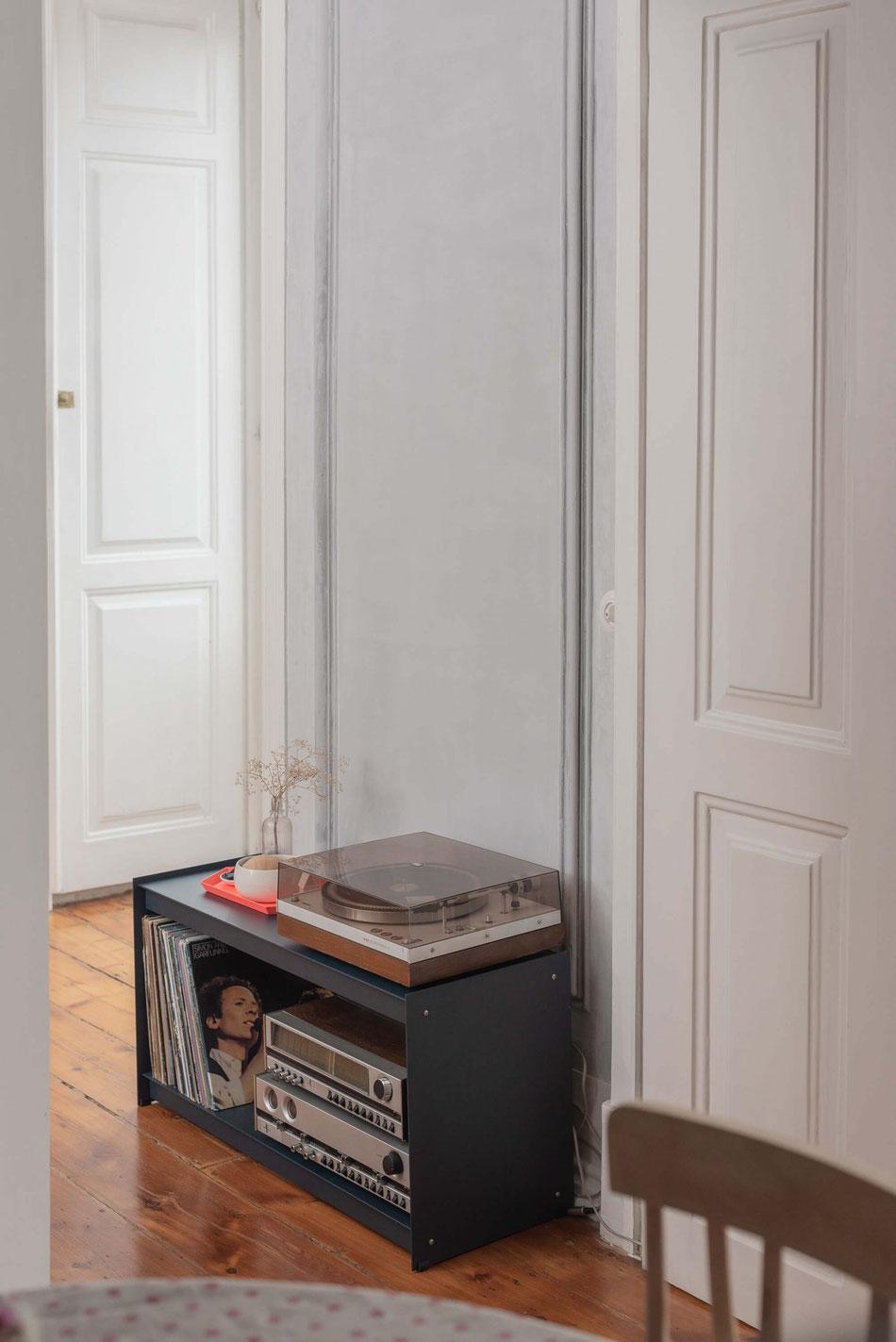 Plié Floor Unit, 90 cm, black by UTIL