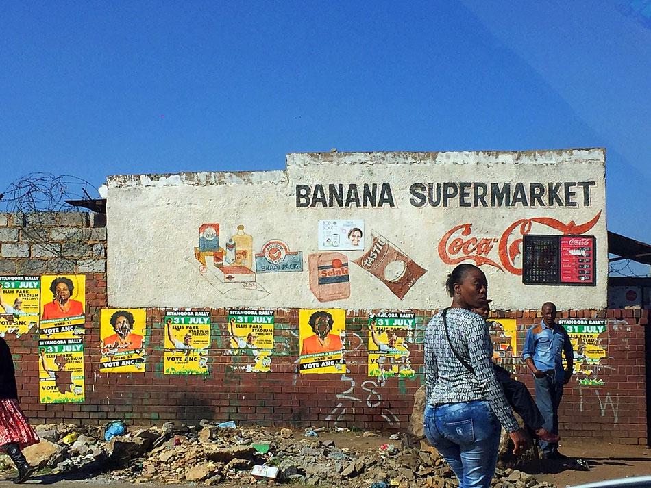 Dans les rues de Soweto