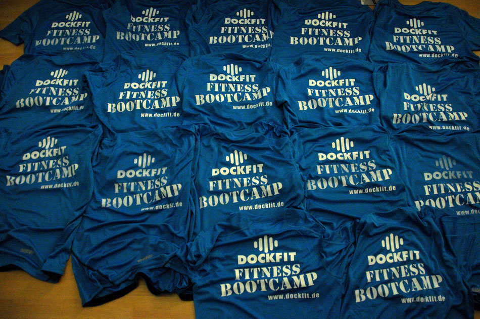 Dockfit Lauf Shirts Rückseite.