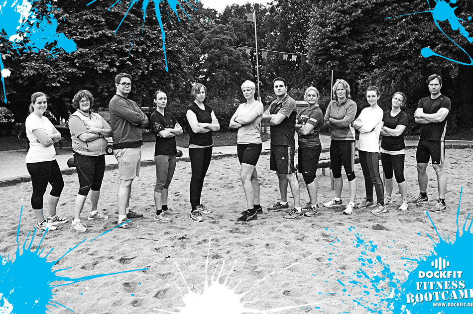 foto: dockfit altona fitness bootcamp hamburg training fitnessexperten hamburg dockland battle ropes outdoor training sat1