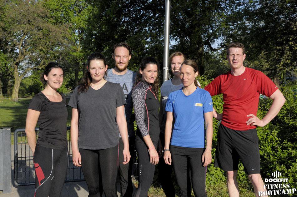 dockfit altona fitness bootcamp hamburg training sonne