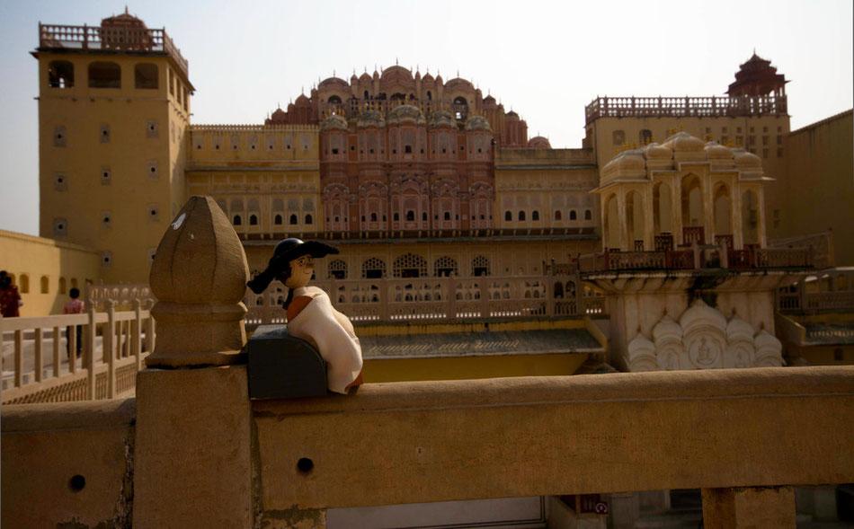 Goethe in Jaipur - Palast der Winde