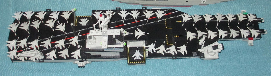 mega bloks uss kitty hawk probuilder building bricks lego compatible