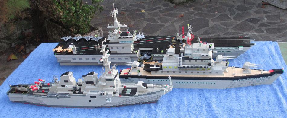 destroyer mega bloks 9762 double size