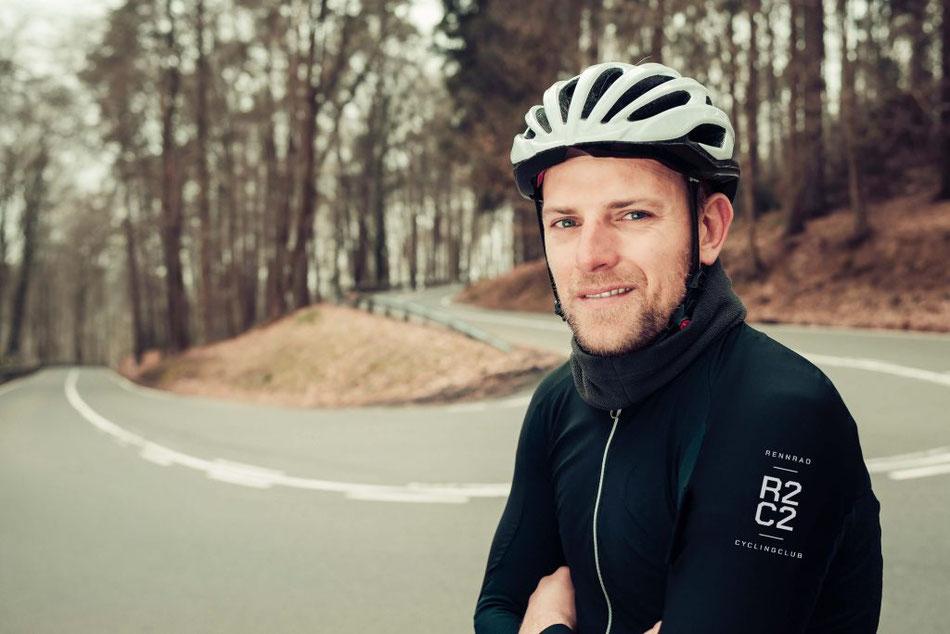 Der erfolgreiche Ex-Profi Gerald Ciolek ist der Sportliche Leiter des R2C2 (RennRad Cycling Clubs) – und Testimonial des Clubs. (Foto: Stefan Mays)