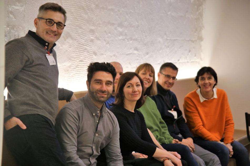 Die Jury des digital publishing award 2019 (leider nicht ganz vollständig)
