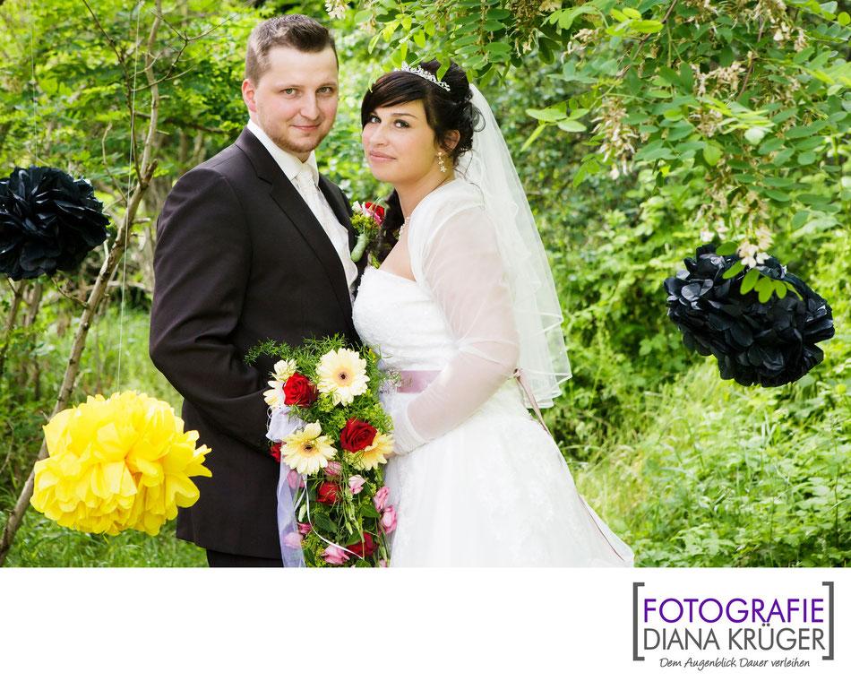 Hochzeitsfotos Talsperre Kriebstein