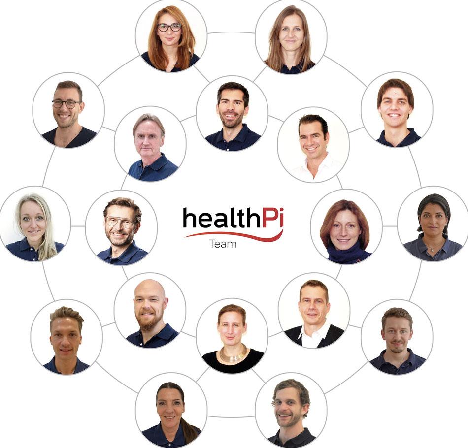 healthPi Expertenteam
