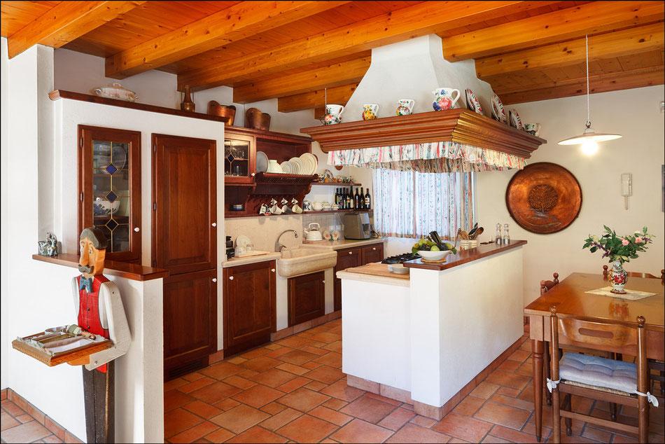 La cucina friulana in muratura - B&B Casa Adele Udine