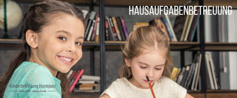 Kinderbetreuung Harmjanz. Hausaufgabenbetreuung.