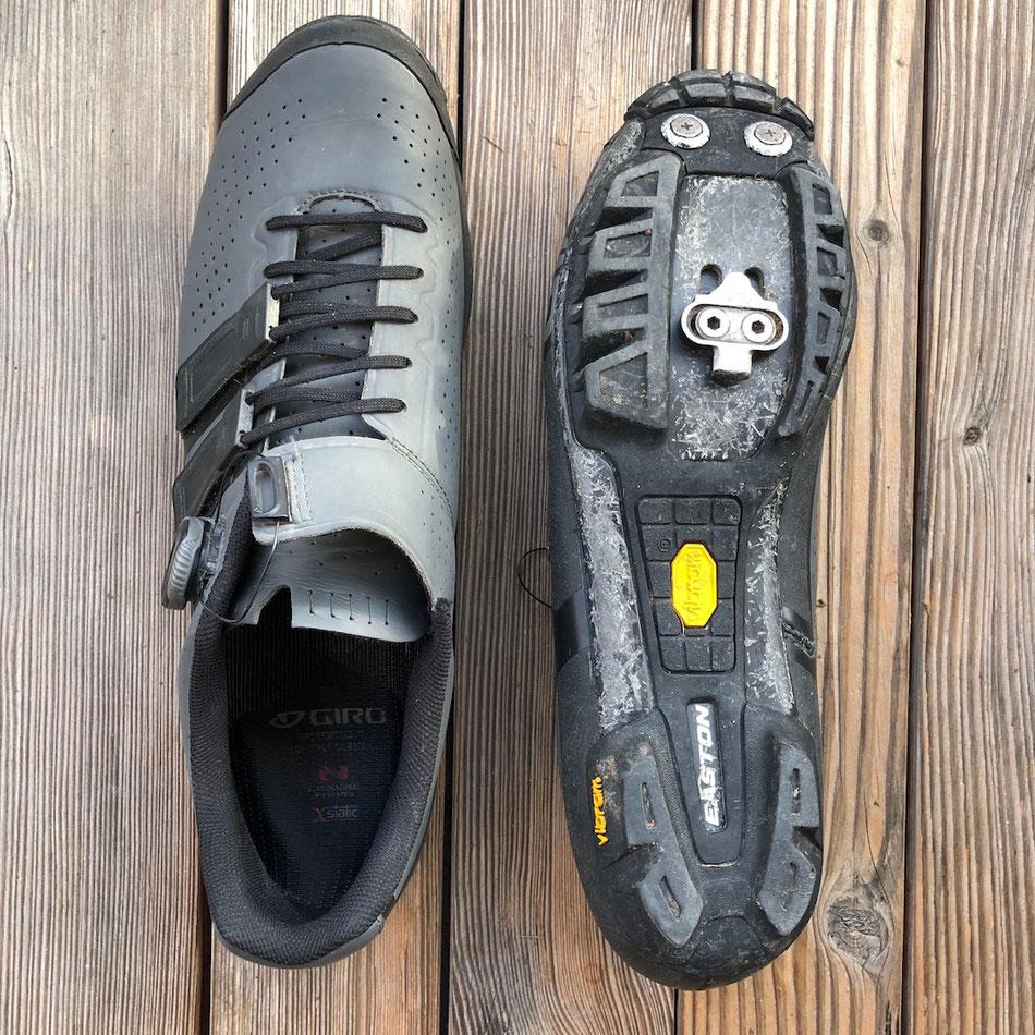 Giro MTB-Schuh, MTB-Schuh mit Vibram®-Sohle, MTB-Schuh mit Boa®-Drehverschluss