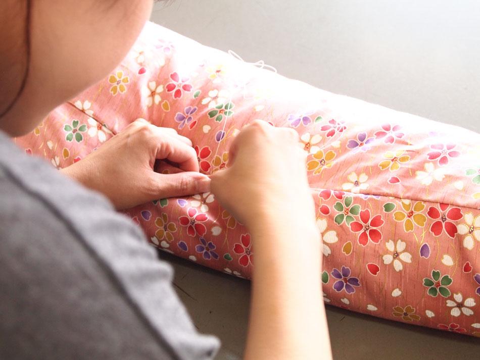 昔ながらの手作り布団の温かみ