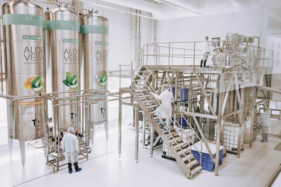 La nouvelle usine de production d'aloe vera LR Health & Beauty