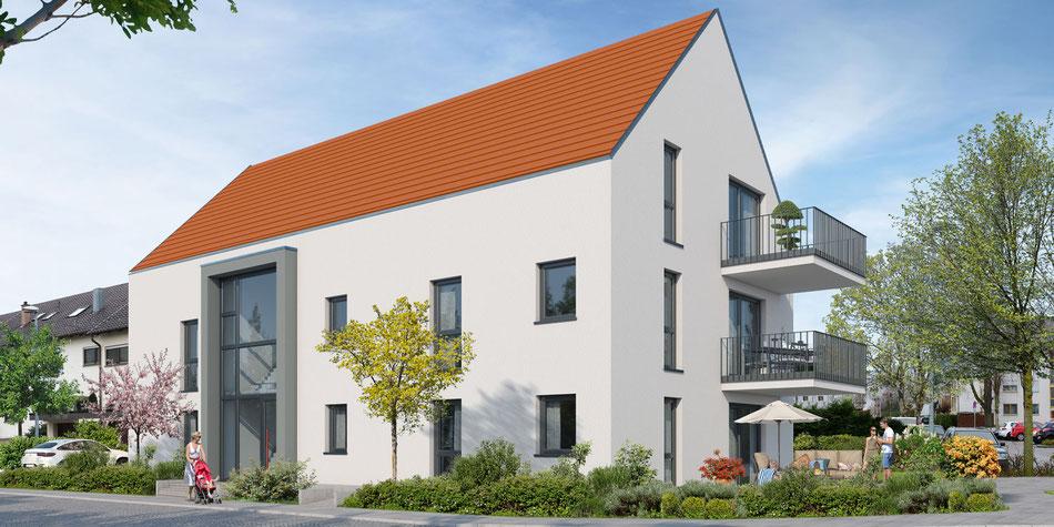 Schlössle GmbH Bauvorhaben Vaihingen an der Enz Eigentumswohnungen Wohnbau Kreis Ludwigsburg