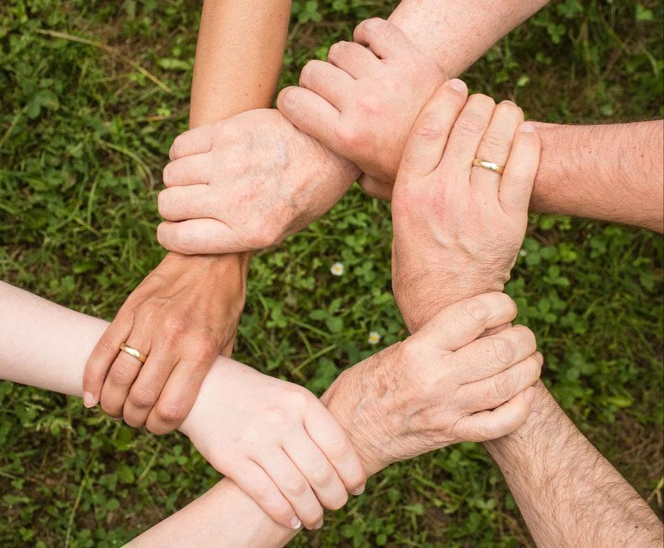Miteinander lernen - zusammenhalten und gemeinsam wachsen