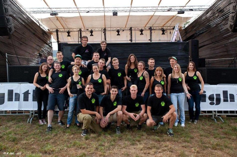 Mitglieder & Helfer - Stand Juli 2015