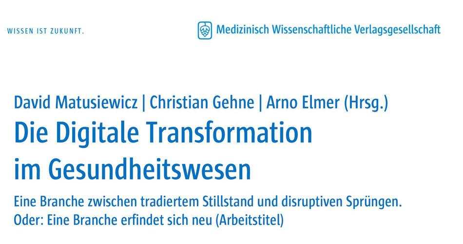 Die Digitale Transformation im Gesundheitswesen - Prof. Dr. David ...