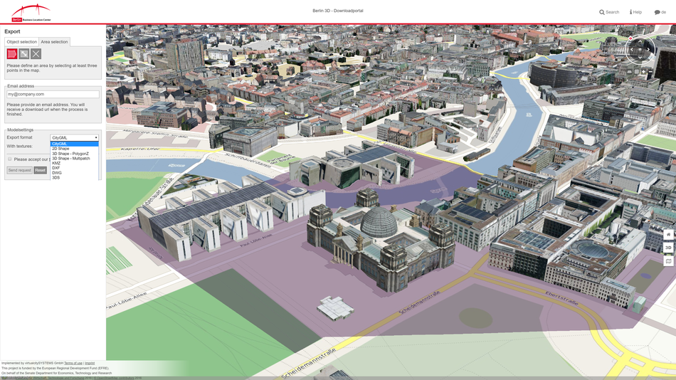 3D WebGIS Gallery - virtualcityCLOUD