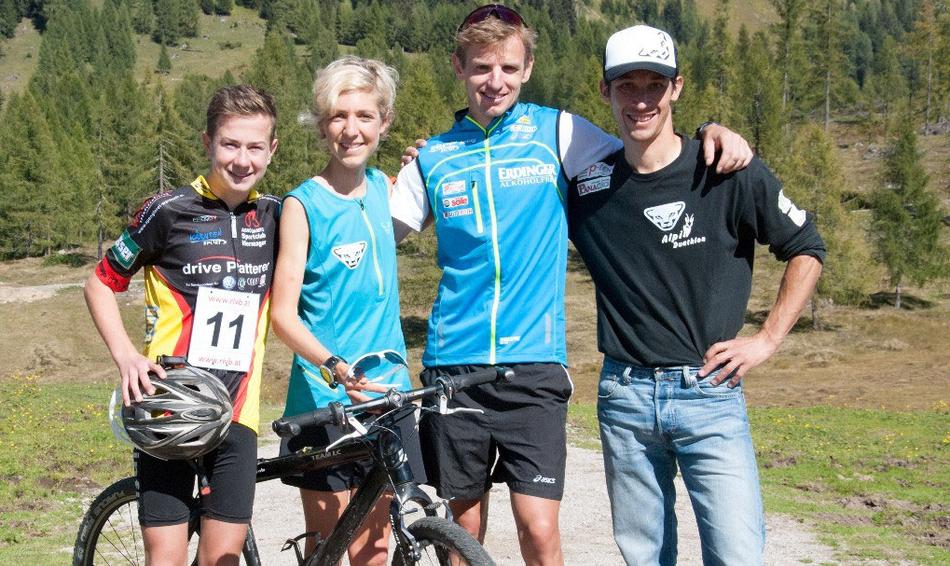 Polizengams-Sieger 2014 - Christof Hochenwarter - Susanne Mair, Markus Hohenwarter, Michael Kurz ©guha