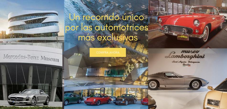 Recorrer las automotices más exclusivas de europa Tour