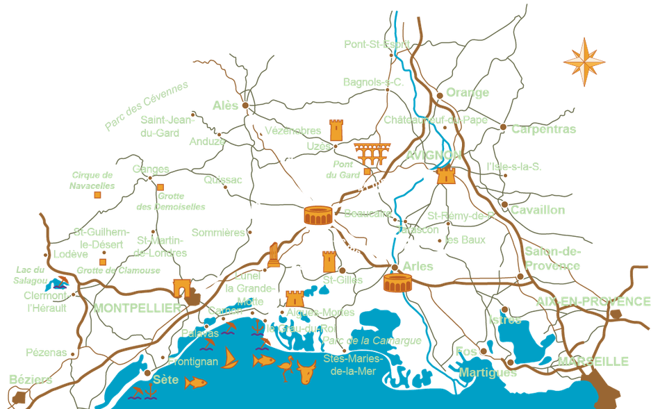 Gîte à Nîmes dans le Gard