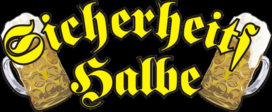 Logo Sicherheitshalbe - Die Party Cover Band