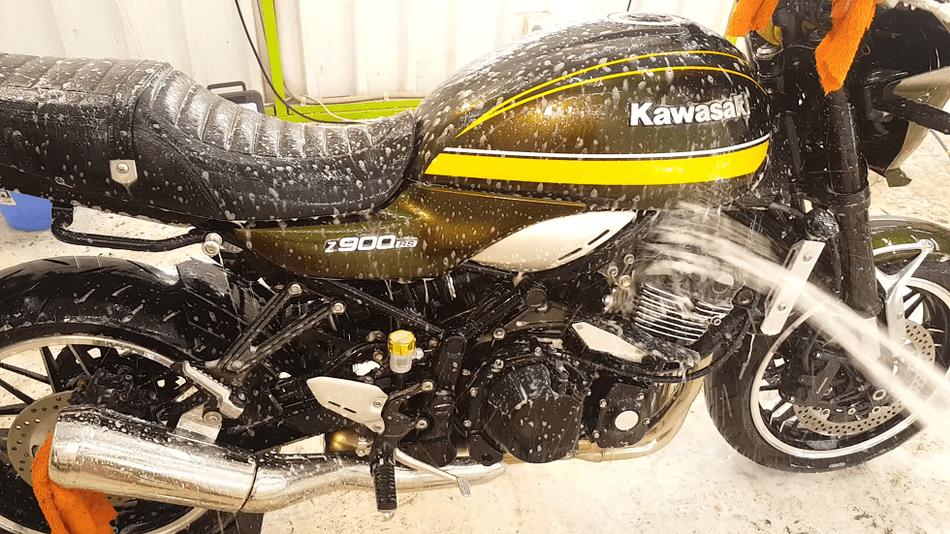 z900rs 洗車 埼玉のバイク磨き専門店・アートディテール