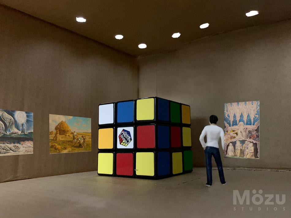 ミニチュア美術館の試作品3