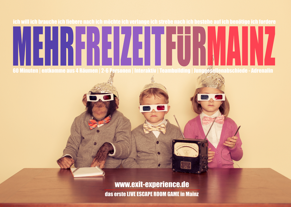 Unser Flyer, ganz fresh - was haltet Ihr davon?