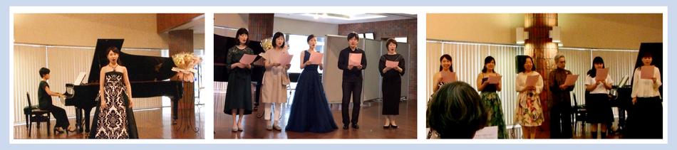 札幌大谷大学・同窓会ホールで行われた、みつはし音楽教室の第11回目の夏の発表会の写真です