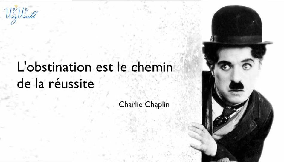 """""""L'obstination est le chemin de la réussite"""