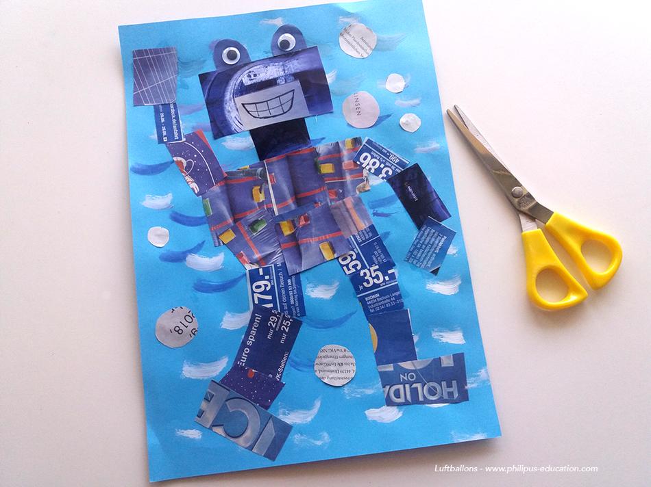 projet artistique Der Roboter im Wasser (allemand au cycle 2)