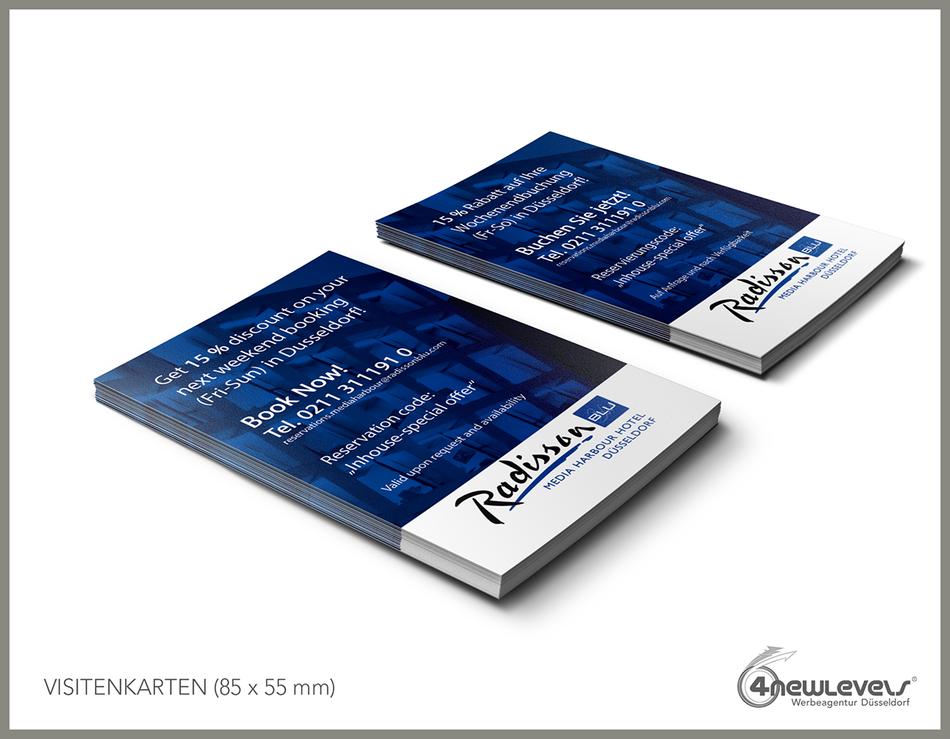 Radisson Blu 4newlevels Werbeagentur Düsseldorf