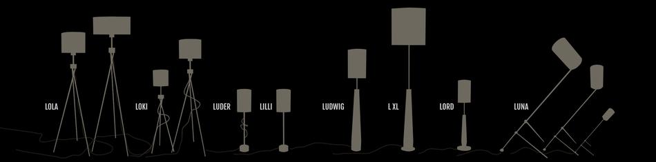 deLumine Leuchten Lampen Lighting Overview