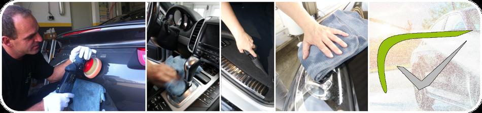 Politur, Innenraumreinigung, Aussaugen, Reinigen, Fünfer Autopflege