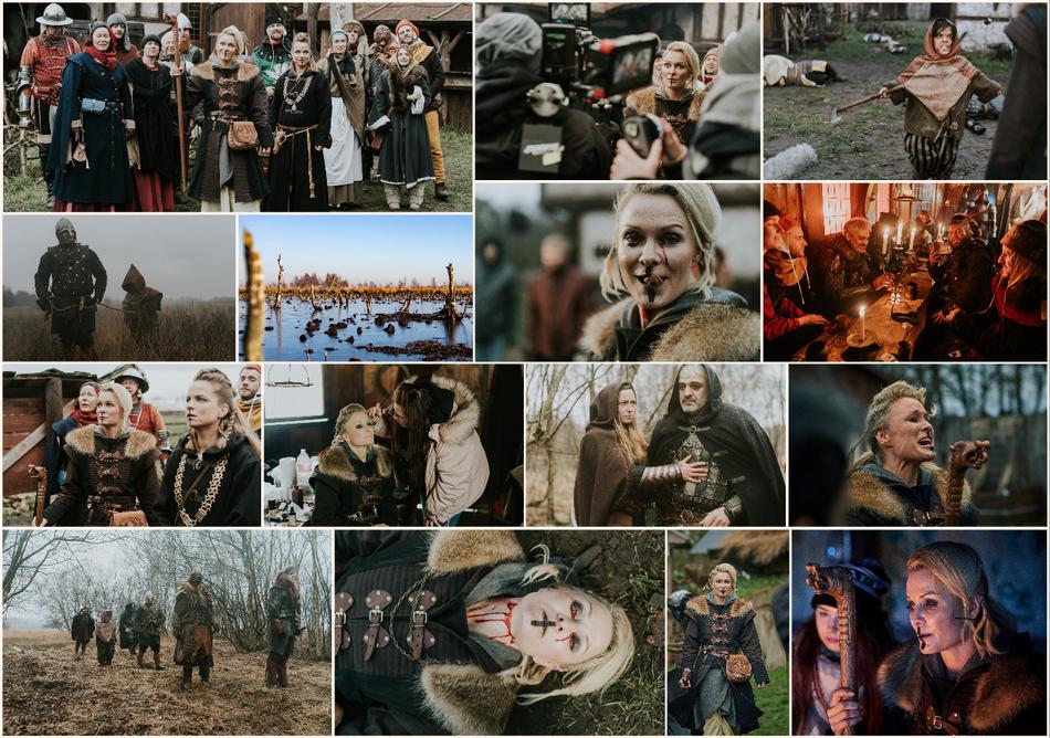 Filmstills Film Skorya, Genre Mittelalter / Fantasy, Fotos von Thomas Damm & Nikolaj Georgiew, Evi Meinardus: Priesterin Neyra