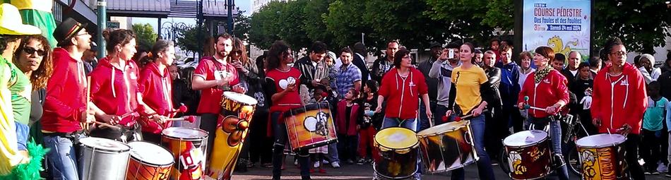 Batucada Zé Samba à Garges les Gonesses