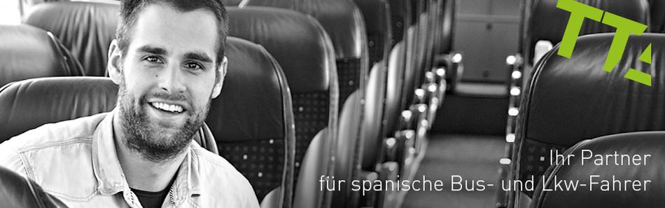 Busfahrer aus Spanien