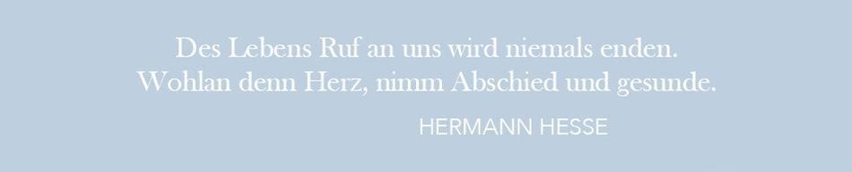 Zitat: Hermann Hesse, Stufen, Seite : 187