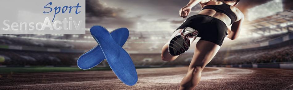SensoActiv Sport Einlagen von Ortho-Huber in Zorneding
