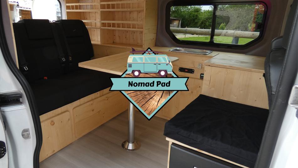 Aménagement de camion et campervan et fourgon
