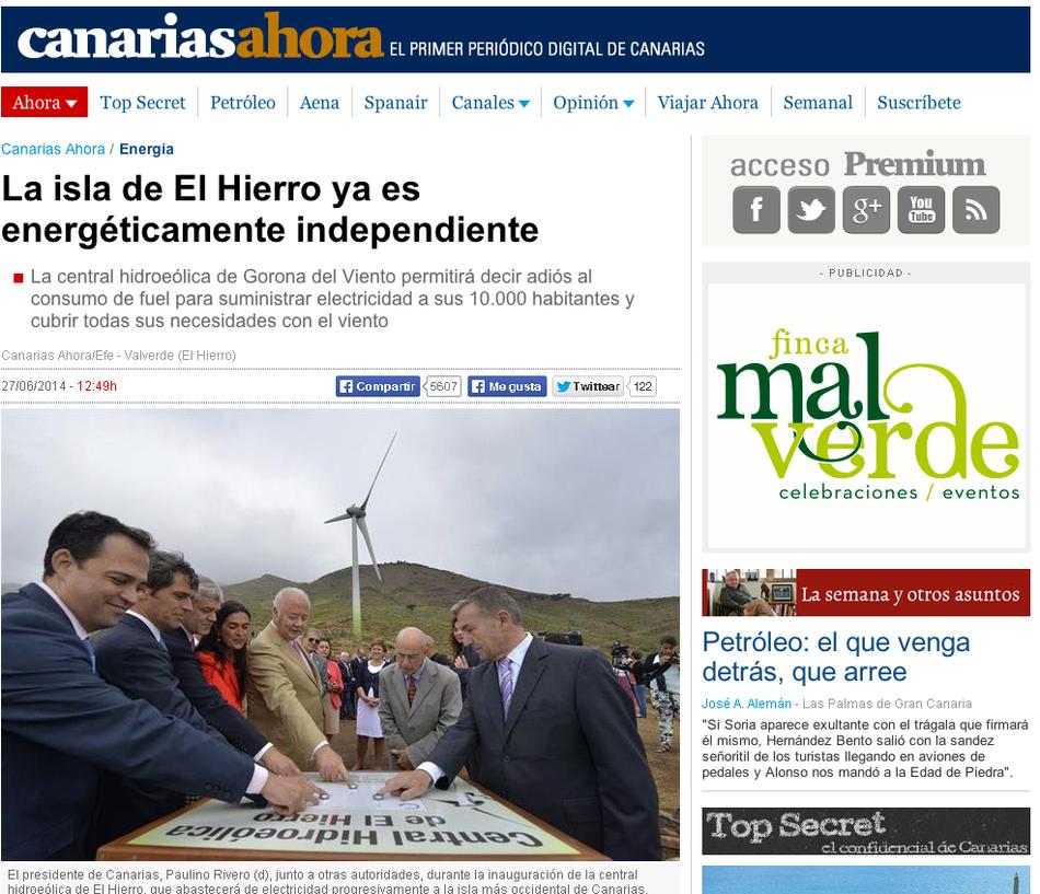 Source: Canariasahora, 27.06.2014