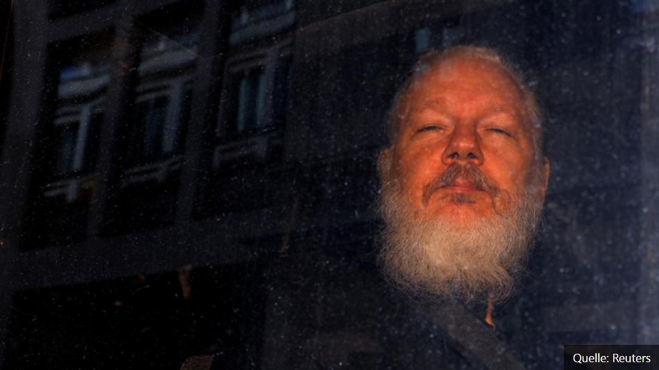 13.06.2019 – RT  Britischer Innenminister bewilligt Auslieferungsgesuch der USA für Assange