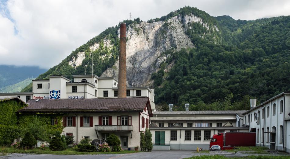 Untere Papierfabrik heute. Foto Kurt Meyer