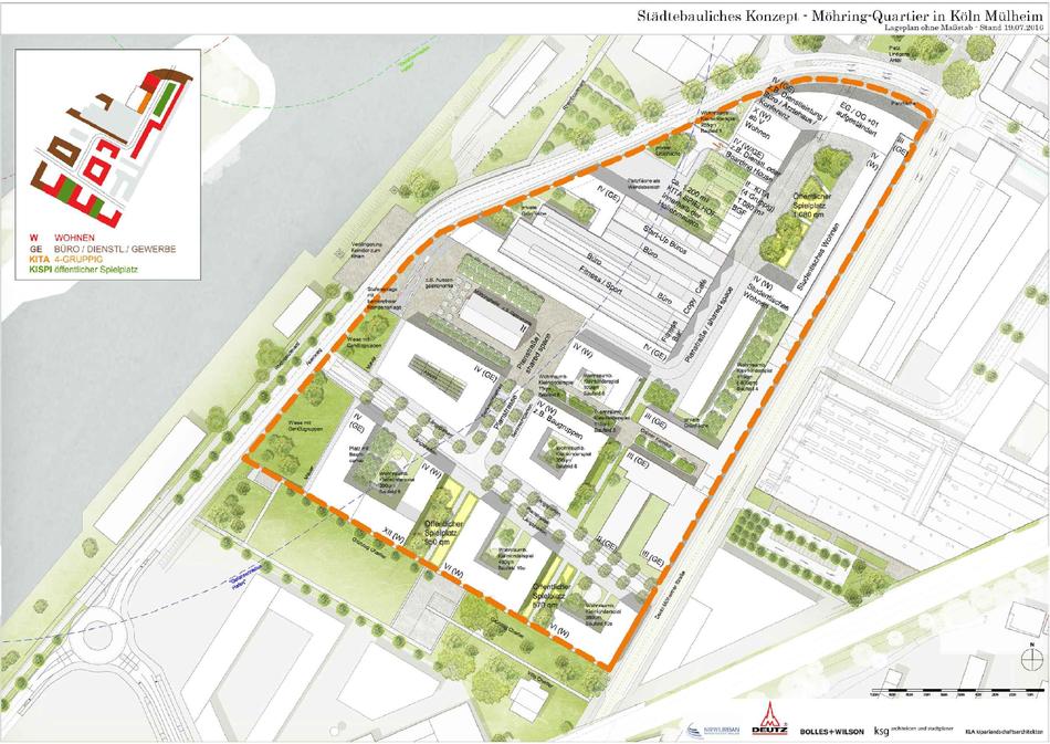 Planungskonzept Möhring Quartier