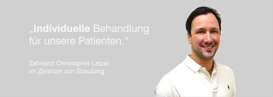 Zahnarzt, Straubing, Latzel, Zahnarztpraxis, Beratung