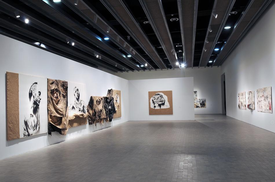 Tristeza sin donde. Installation view at IAACC PABLO SERRANO, 2018