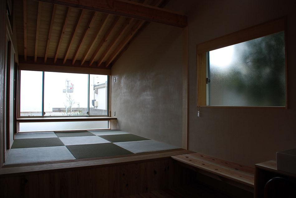 もう一つの宿泊室。